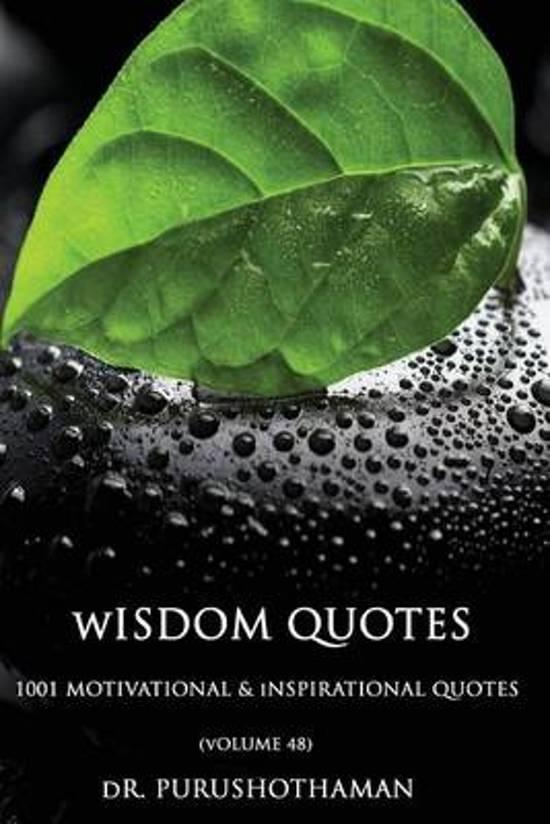 Wisdom Quotes (Volume 48)