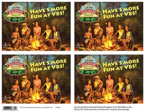 Camp Discovery Publicity Postcards 24pk