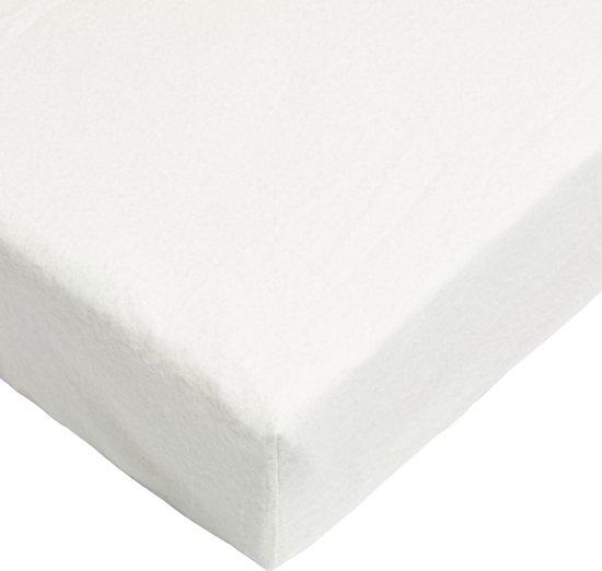 Day Dream hoeslaken - flanel - 90 x 220 - Crème