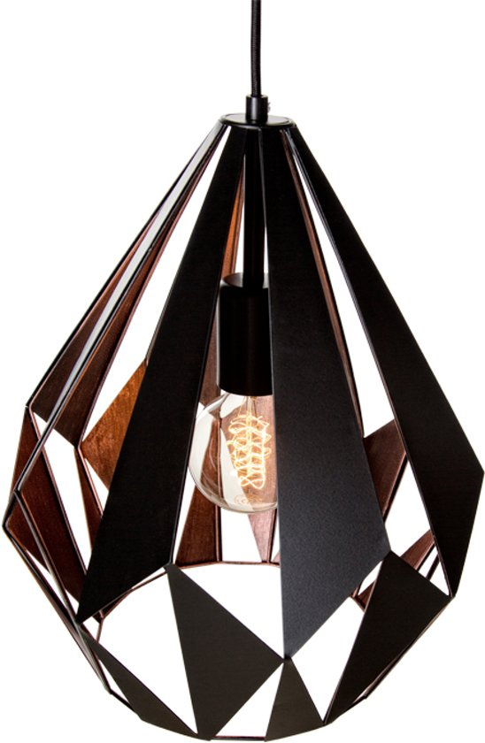 bol eglo vintage carlton 1 hanglamp 1 lichts à 310mm