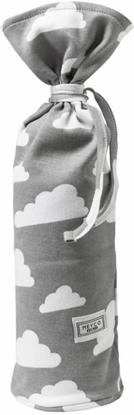 Meyco Little Clouds kruikenzak - Grijs