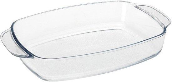 Glazen ovenschaal 17 x 22 cm