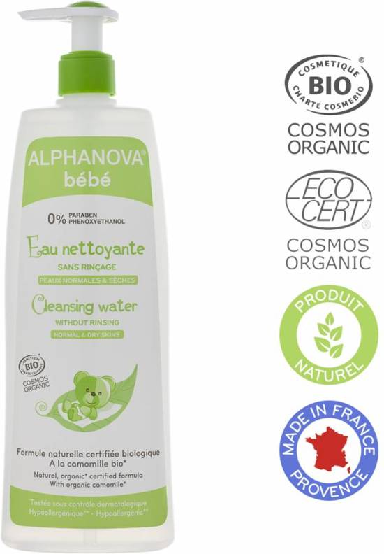 ALPHANOVA Bebe Organic Cleansing Lotion 500ml