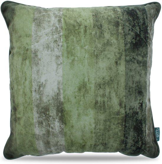 Intimo Velvet - Sierkussen - 45x45 - Groen