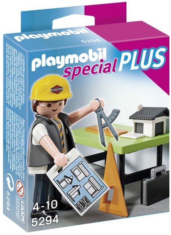 Playmobil Architect met Maquette - 5294