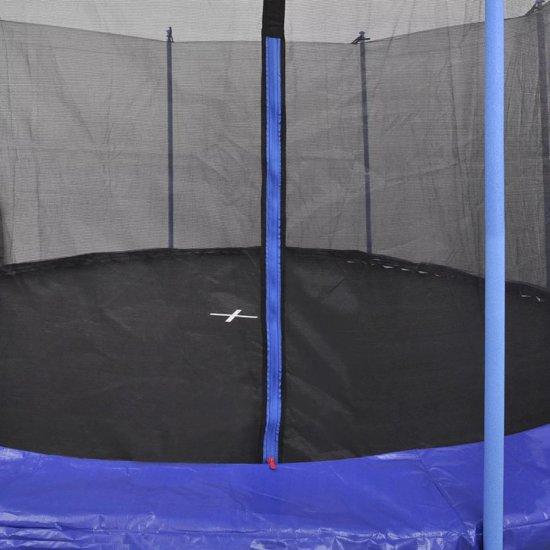 vidaXL Trampolineset 3,66 m 5-delig