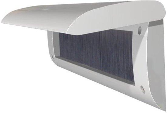 Door-Line basic binnenbriefplaat kunststof zilver