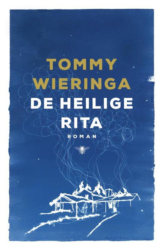 Boek cover De heilige Rita van Tommy Wieringa (Onbekend)