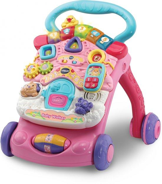 Afbeelding van VTech Baby Walker Roze - Looptrainer speelgoed