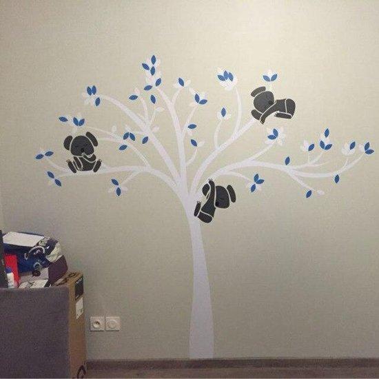 Baby Stickers Voor Op De Muur.Bol Com 3d Sticker Decoratie Oversized Grote Koala Boom