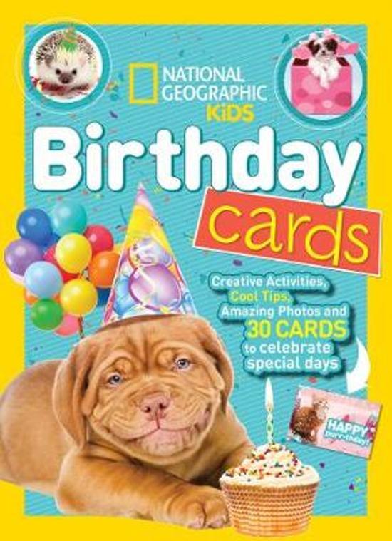 Pleasant Bol Com National Geographic Kids Birthday Cards Activity Books Funny Birthday Cards Online Alyptdamsfinfo