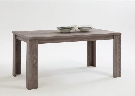 Woonexpress Ammerzoden - Eettafel - 90x160cm - Bruin