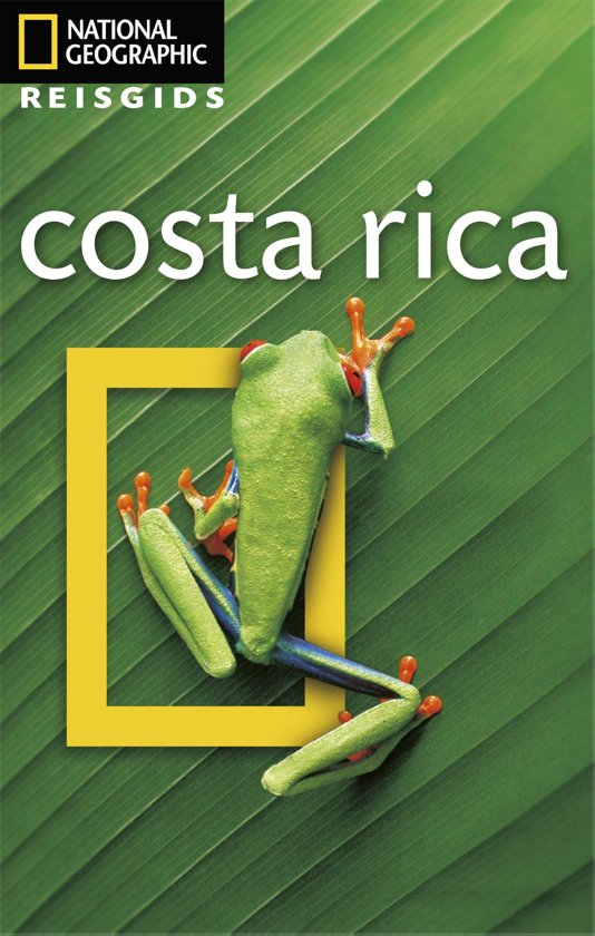 National Geographic Reisgids - Costa Rica cover