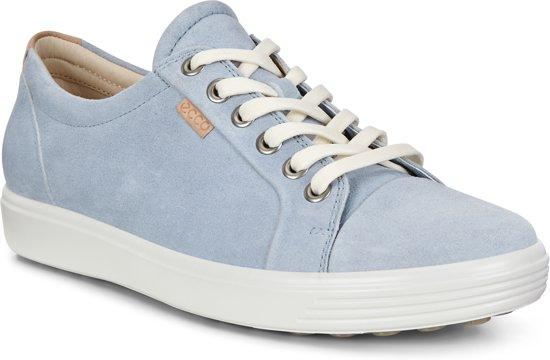 Ecco Soft 7 Dames Sneaker - Blauw