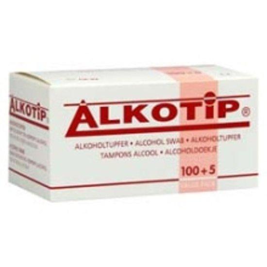 Alcoholdoekje Alkotip 100+5