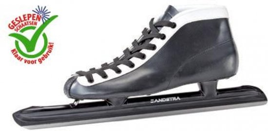 Zandstra schaatsen Noren leren schoen - Intergard excl.