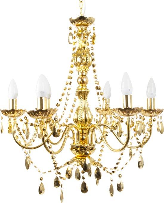 Bol leitmotiv chandelier gypsy hanglamp 52 x 11 cm leitmotiv chandelier gypsy hanglamp 52 x 11 cm plastic goud mozeypictures Images