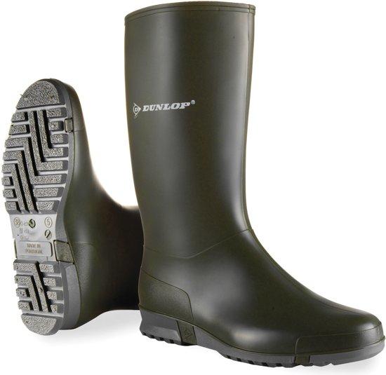Dunlop regenlaarzen groen maat 35