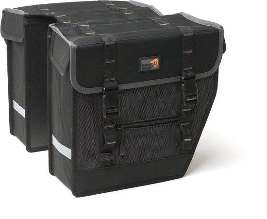 New Looxs Superior Midi Dubbele Fietstas - 27 l - Black