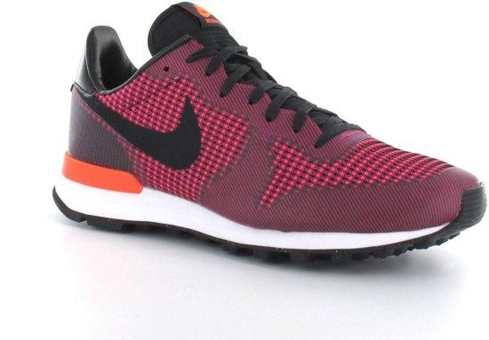 Nike À Double Équipe Féminine En Cuir Haute - Chaussures - Femmes - Taille 36.5 - Noir, Rouge, Turquoise Clair