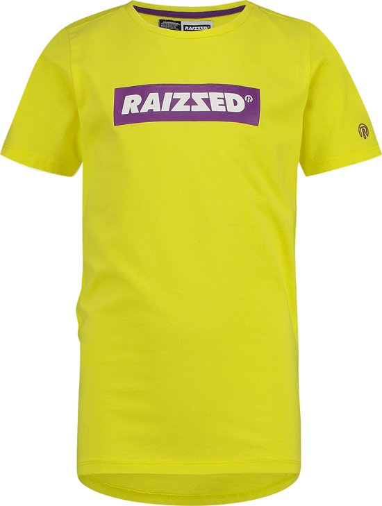 Raizzed Jongens T-shirt - Bright Yellow - Maat 110