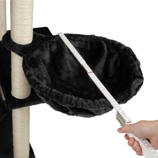 TecTake - Krabpaal Lilou zwart 165 cm - 402933