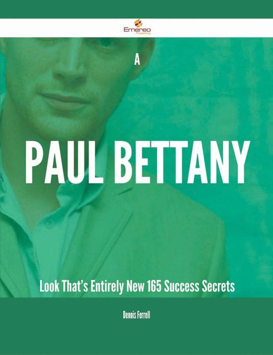 A Paul Bettany Look That's Entirely New - 165 Success Secrets