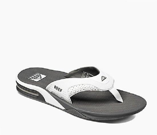 bol | reef slipper fanning grijs/wit - 44