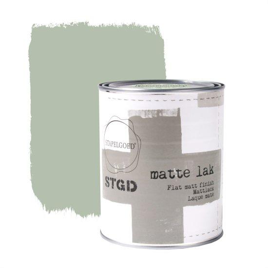 Stapelgoed - Matte Lak - Olive - Groen - 1L