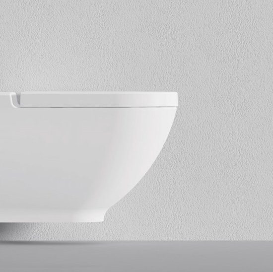 Verwonderend bol.com | Sanitear Thor Hangend Toilet met bidet functie BO-04