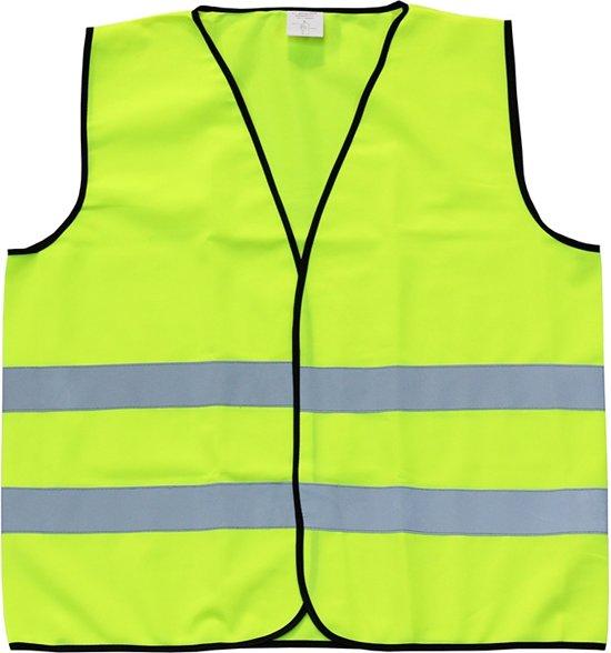 Veiligheidshesje - Reflecterend - Fluo geel - Maat 4XL