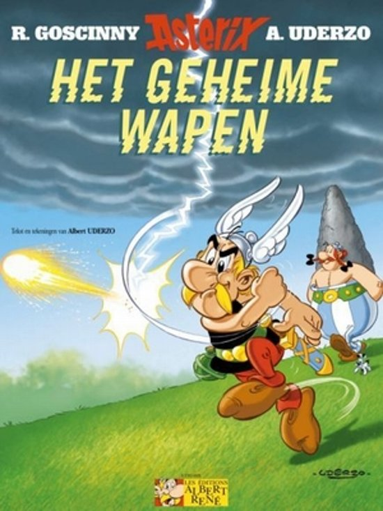 Boek cover Asterix 33. Het geheime wapen van Albert Uderzo (Paperback)