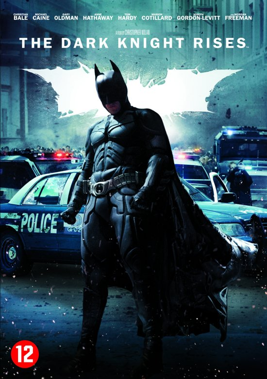 Cover van de film 'The Dark Knight Rises'