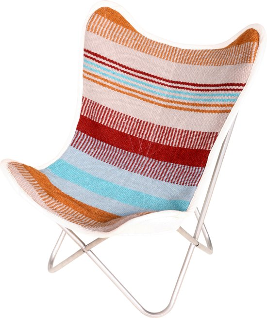 FUJL Butterfly Chair -  Vlinderstoel - Katoen-  Kleurig