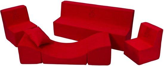 Rode kinder meubelset