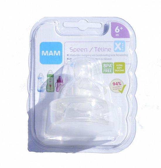 Mam - Soft Flesspeen size x 2 stuks