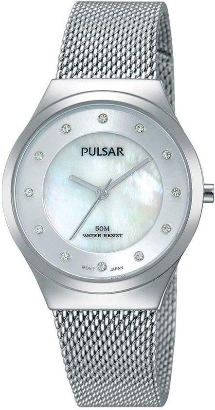 4e82d2899d2 bol.com | Pulsar PH8131X1 horloge dames - zilver - edelstaal