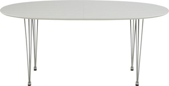 Witte Uitklapbare Tafel.Bol Com 24designs Uitschuifbare Tafel Adelio L170 270 X B100 X