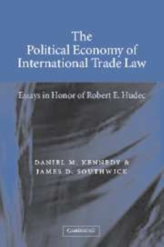 the political economy of international trade Symposium the political economy of international trade law and policy introduction kenneth w abbott as this introduction is written, the law of international trade.