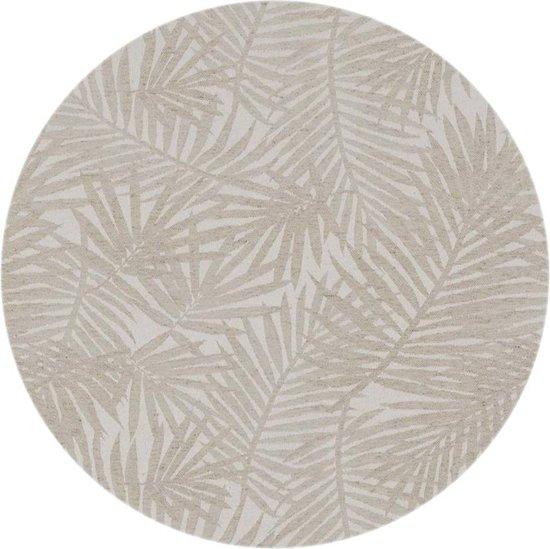 bol   mixmamas rond tafelkleed gecoat - Ø 160 cm - palm leaves