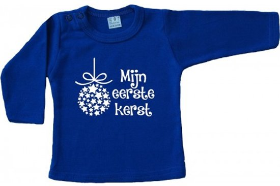 Bol Com Beau Shirt Mijn Eerste Kerst