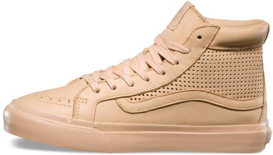Sk8 Vans 39 Dames Lichtbruin hi Slim Sneakers Maat Cutout HHrcwq5Wp