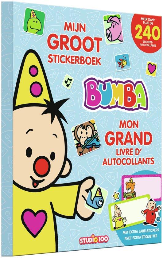 Afbeelding van Bumba - Groot stickerboek