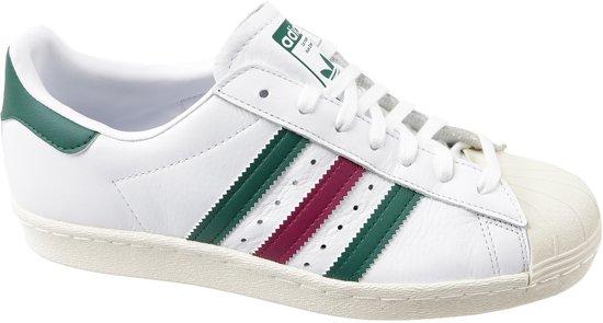 Blanc Chaussures Adidas Superstar Des Années 80 À La Taille 40 Hommes 6nAhQ8OkeZ