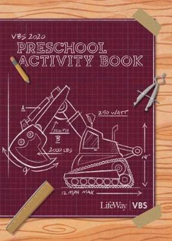 Vbs 2020 Preschool Activity Book