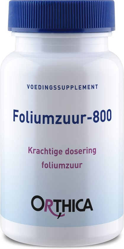 Bolcom Orthica Foliumzuur 800 Vitaminen 120 Tabletten