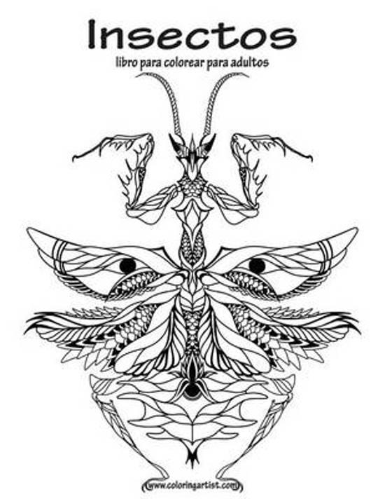 bol.com | Insectos Libro Para Colorear Para Adultos 1, Nick Snels ...