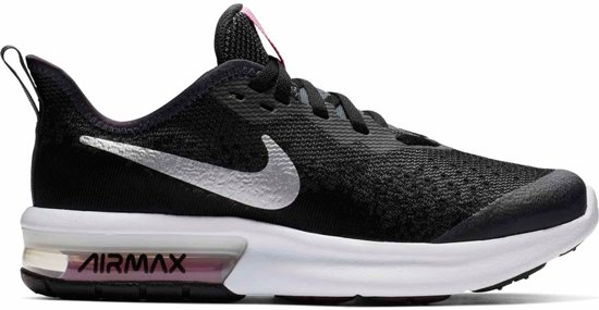 Maat Max Sequent 4gsSneakers Nike 36 Air UnisexBlack 9EH2DI