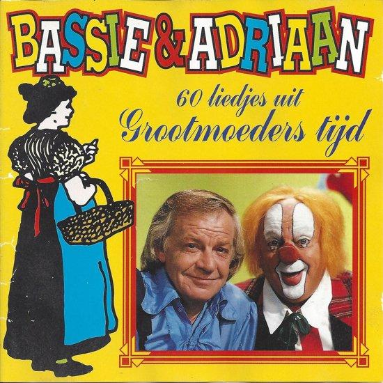 bol com   60 Liedjes Uit Grootmoeders Tijd, Bassie  u0026 Adriaan   Muziek