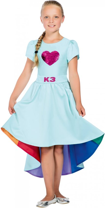 Afbeelding van K3 jurkje Verkleedjurk K3 Love Cruise 3-5 jaar speelgoed
